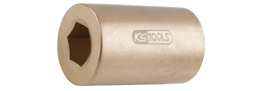 socket 6 point bronze KS Tools